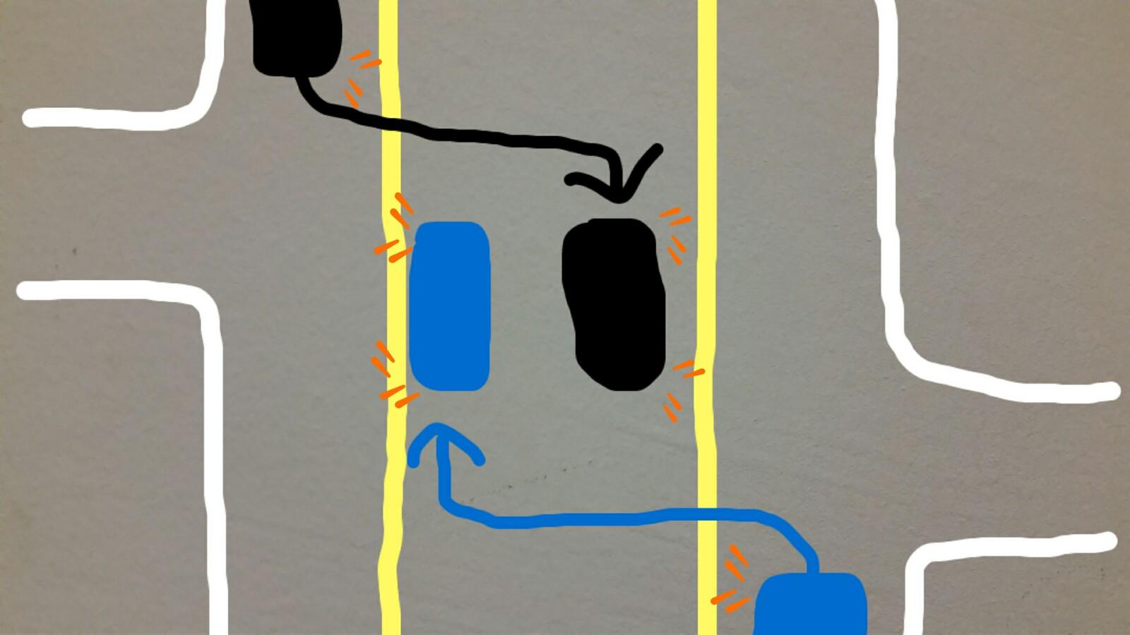 アメリカグアム中央車線センターレーン使い方無理やり