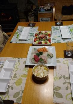 うちっ夕食