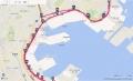 横浜マラソン2016マップ(16-30K)