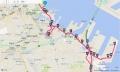 横浜マラソン2016マップ(31~43K)