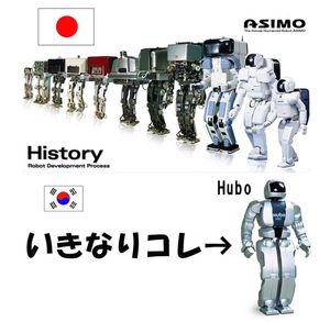 ロボット ヒューボ