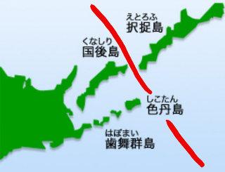北方領土 返還 分割