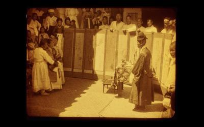 日帝併合時 朝鮮の結婚式 記録映画