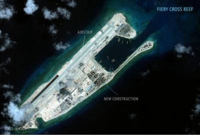 南沙諸島 中国軍基地 飛行場