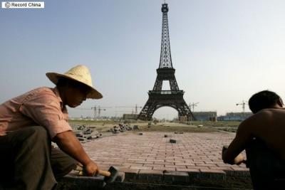 浙江省杭州市 パリのパクリ 世界遺産