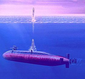 米国の戦略原潜 オハイオ級