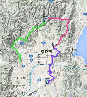 ぐるっと京都トレイル