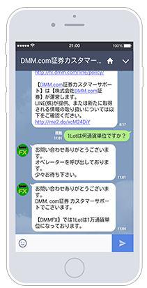 DMMFX LINE