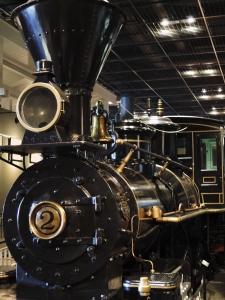 アメリカ製蒸気機関車