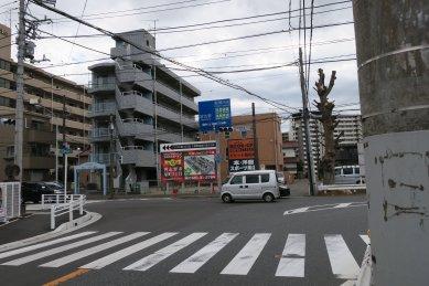 成田街道入口