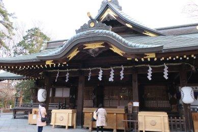 大國魂神社・拝殿
