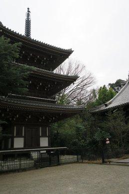 東禅寺・三重塔