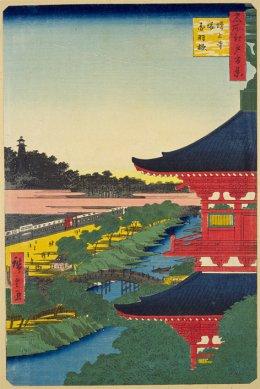 増上寺塔赤羽橋・百景