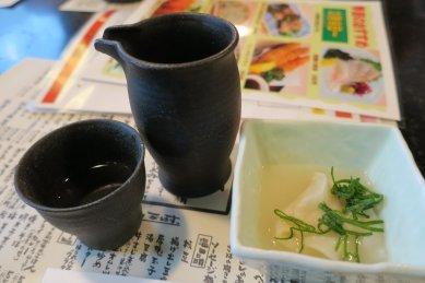 先ずは日本酒一合