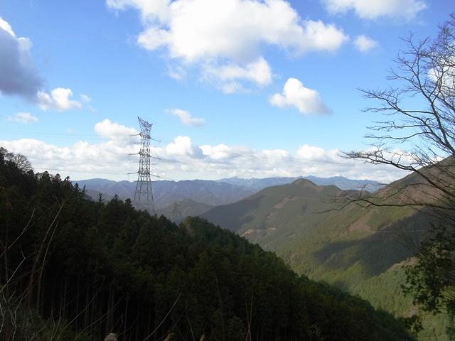 20151219_③天ヶ峠林道からの展望