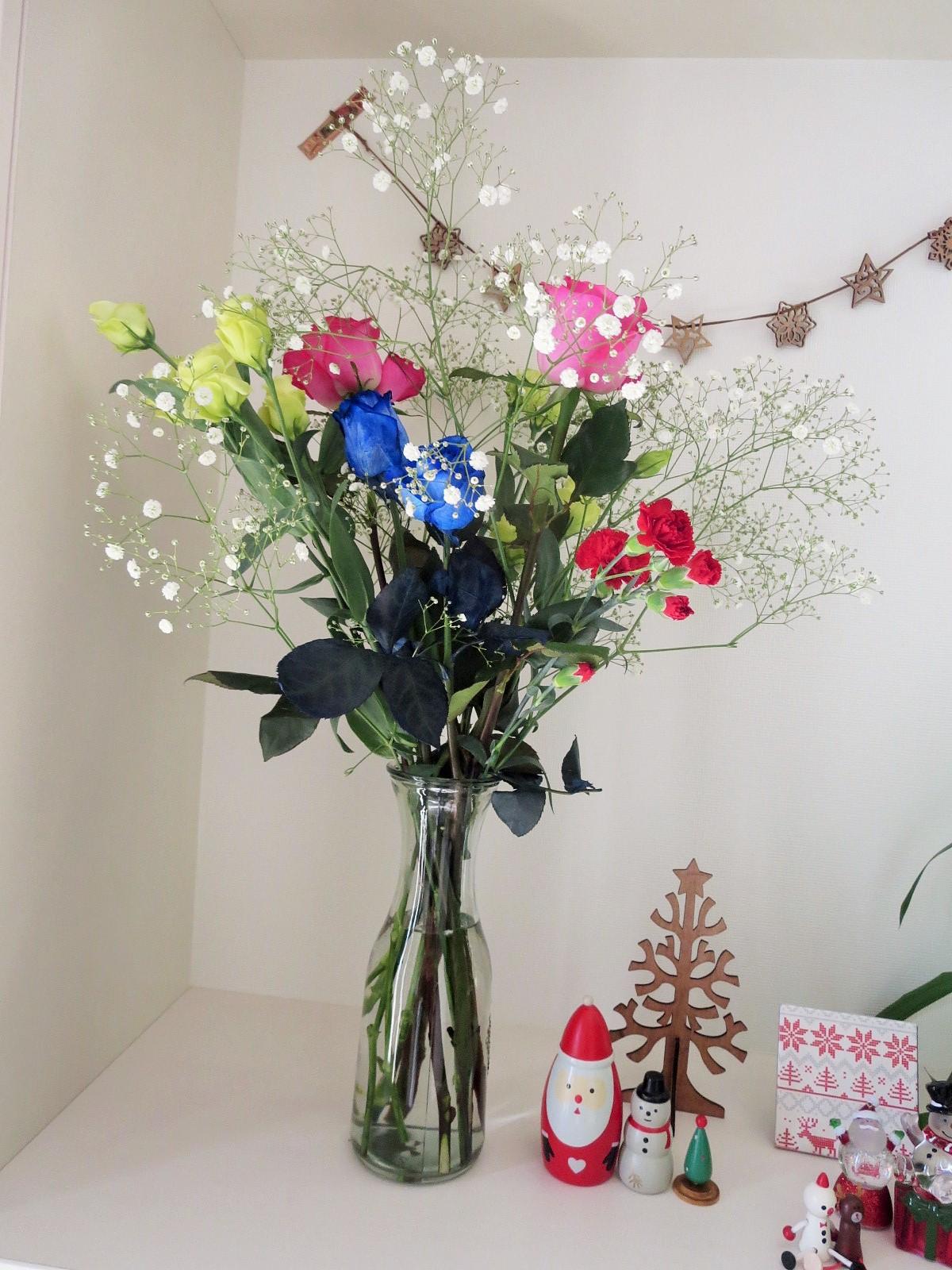 誕生会の花