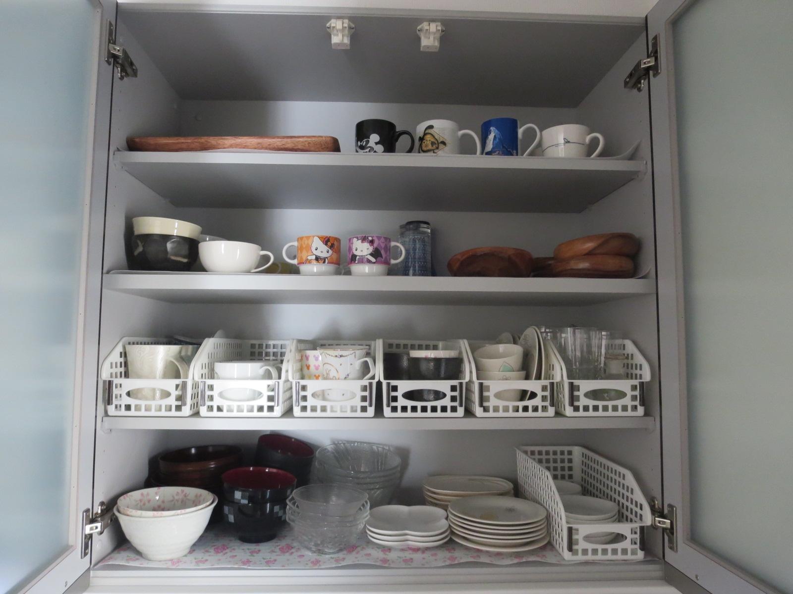 食器棚収納8