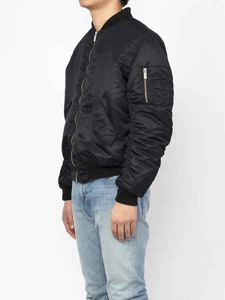 PM16BLS15003TREATED Collaboration Loop MA-1 Bomber Jacket2_R