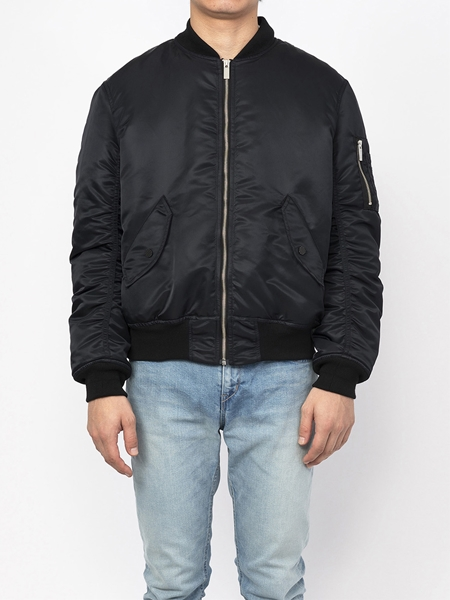 PM16BLS15003TREATED Collaboration Loop MA-1 Bomber Jacket1_R