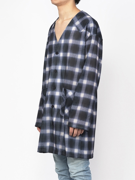 PM16LSS02403Ombrer Check Mesh Long Tee2_R
