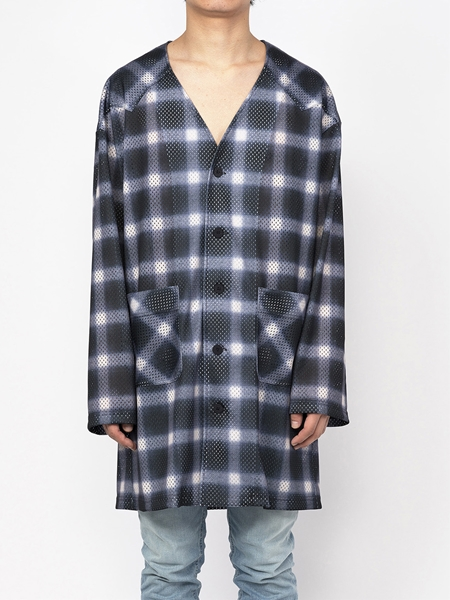 PM16LSS02403Ombrer Check Mesh Long Tee1_R