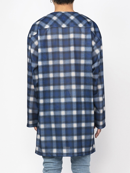 PM16LSS02403Ombrer Check Mesh Long Tee6_R