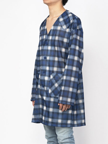 PM16LSS02403Ombrer Check Mesh Long Tee5_R