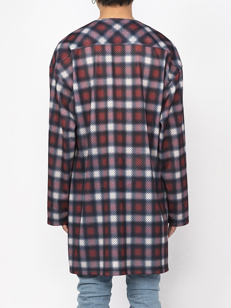PM16LSS02403Ombrer Check Mesh Long Tee9_R