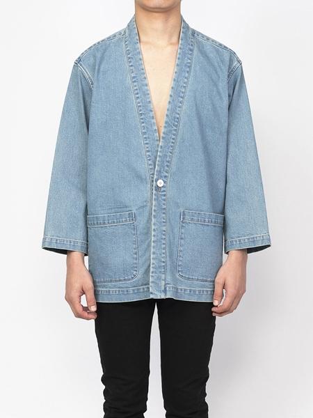 PM16JKT01803Denim Kimono Jacket1_R