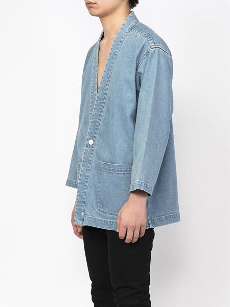 PM16JKT01803Denim Kimono Jacket2_R