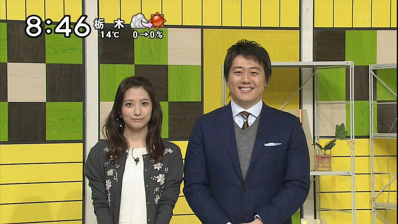 日テレ「シューイチ」の笹崎里菜アナ
