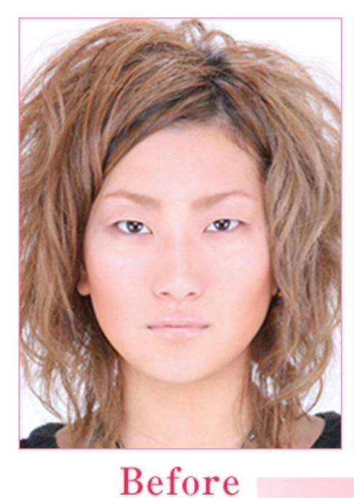 黒ギャルAV女優・AIKAのすっぴん