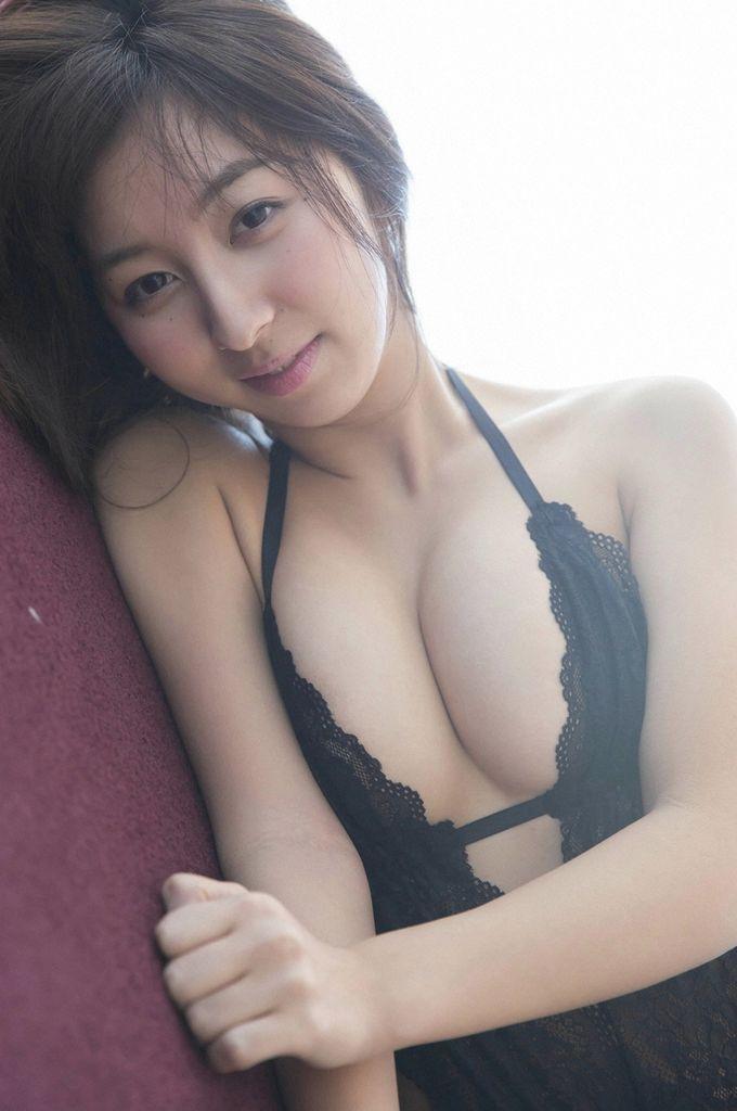飯田里穂の水着グラビア