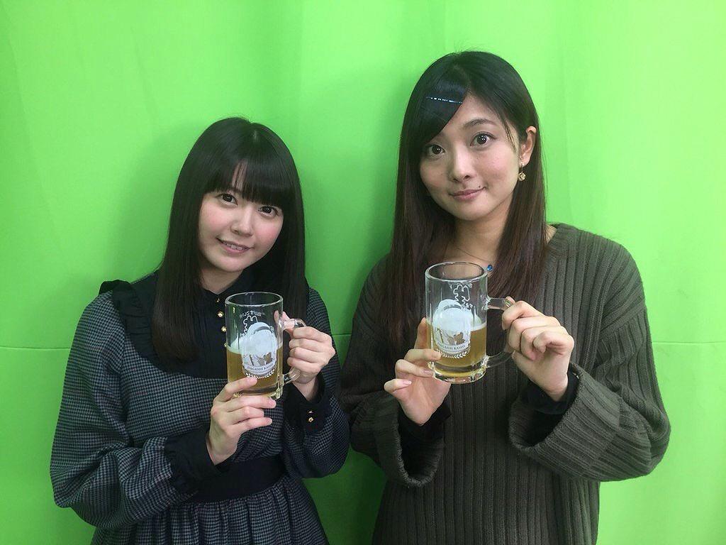 竹達彩奈と沼倉愛美のツーショット