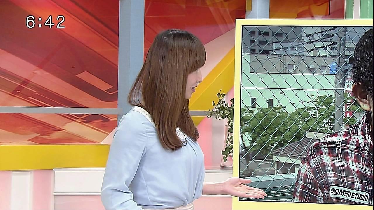 秋田朝日放送の局アナ時代の塩地美澄