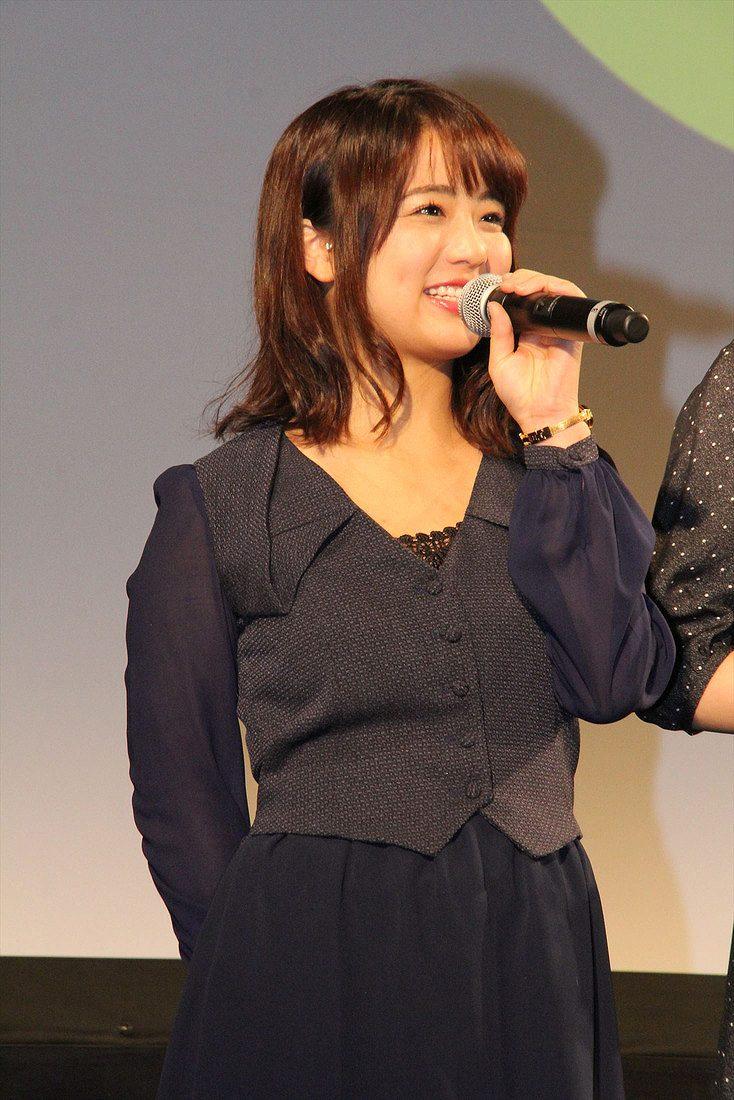 「ゆうばり国際ファンタスティック映画祭 2016」で舞台挨拶をする平嶋夏海