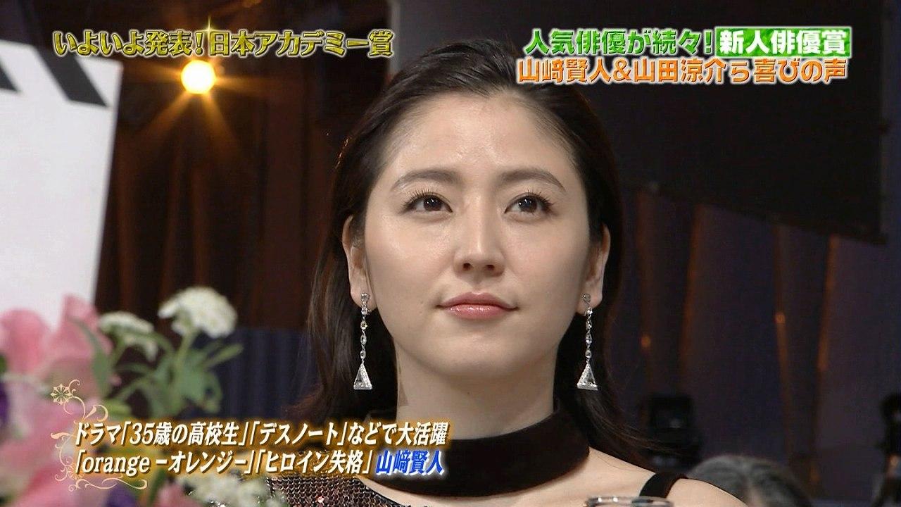 第39回日本アカデミー賞授賞式に出席した長澤まさみ