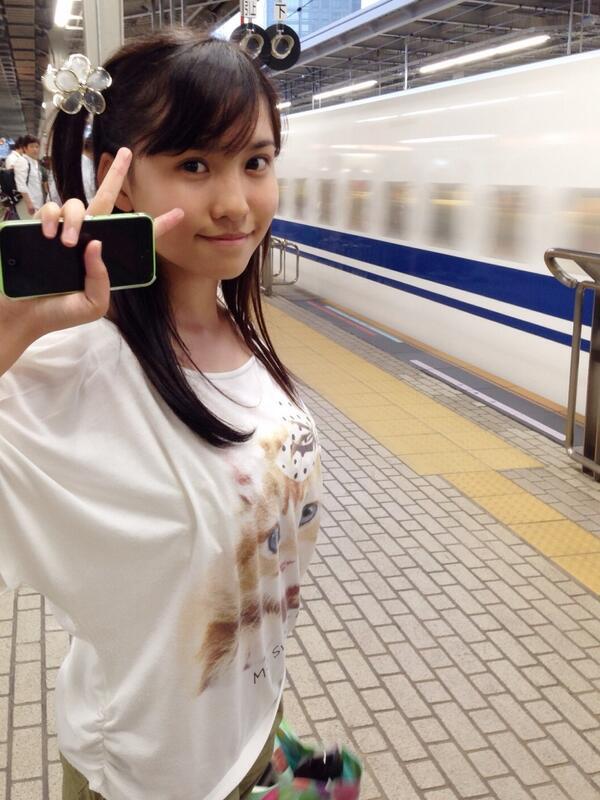 はるかぜちゃん(春名風花)の着衣おっぱい