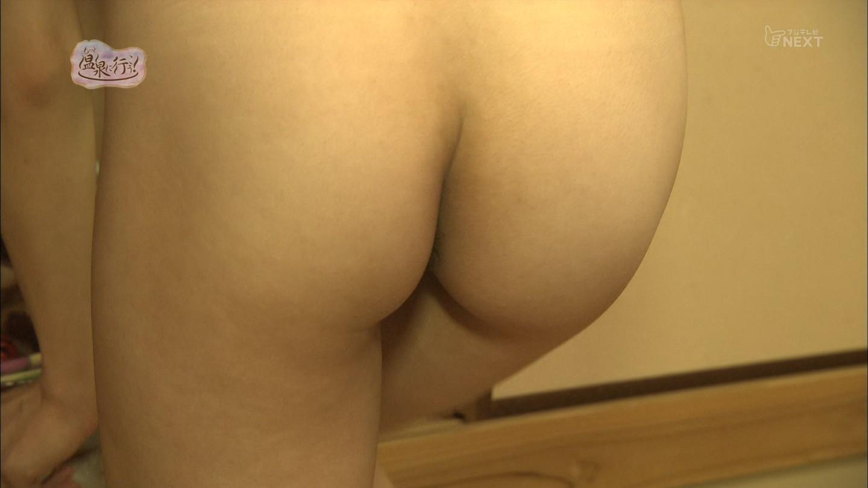 フジテレビNEXT「もっと温泉に行こう! #33」、パンツを脱ぐシーンで映った女の子のお尻の穴のシワ