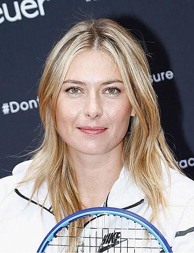 女子テニスプレーヤーのマリア・シャラポワ