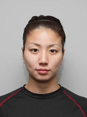 北京オリンピックの時の青木愛の顔