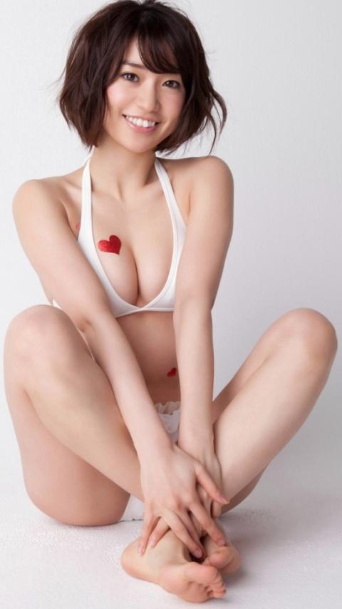 大島優子の水着グラビア