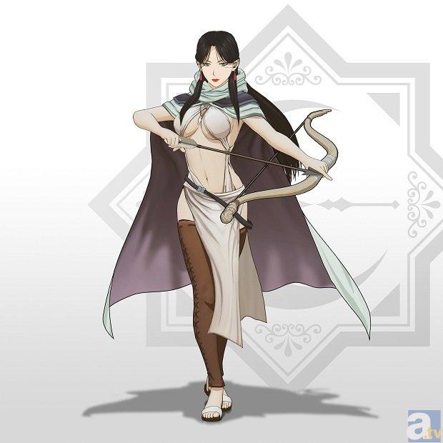 ゲーム「アルスラーン戦記×無双」の弓キャラ