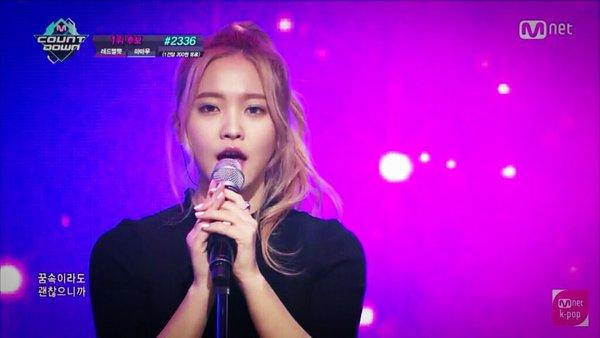 おでこに入れたプロテがくっきり見えてる韓国アイドル、Red VelvetのYeri(イェリ)