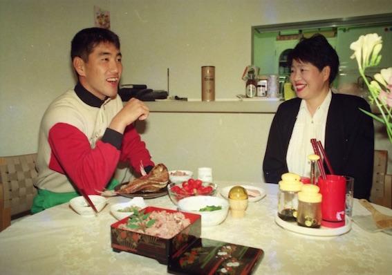 清原と母 弘子さん