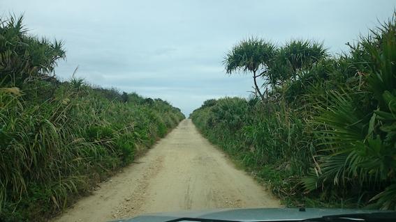 ガベール岬への道