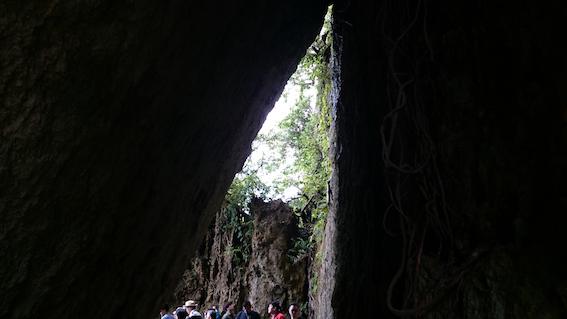 三角岩から入る