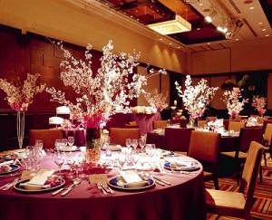 桜テーブル