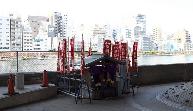 本所戦災地蔵尊006厩橋東詰地蔵尊