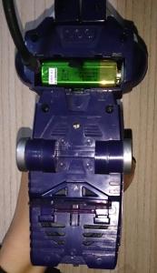 シンさん提供 当時品レーザーウェーブの電池場所